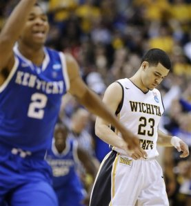 Wichita State performed admirably in defeat, but did it impress our panel?  (Photo Credit to Charlie Riedel of AP Photo)