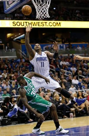 Glen Davis and Brandon Bass are two productive players that were offered at the trade deadline.  So why didn't either of them get snapped up?  (Photo by John Raoux/AP)