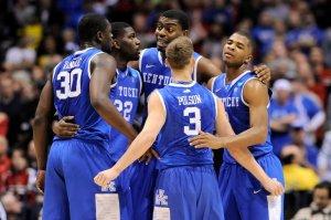 NCAA Basketball: NCAA Tournament-Midwest Regional-Louisville vs Kentucky