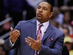 Mark Jackson may have coached his final game for the Warriors last night.  (Photo by Robert Hanashiro/USA Today Sport)