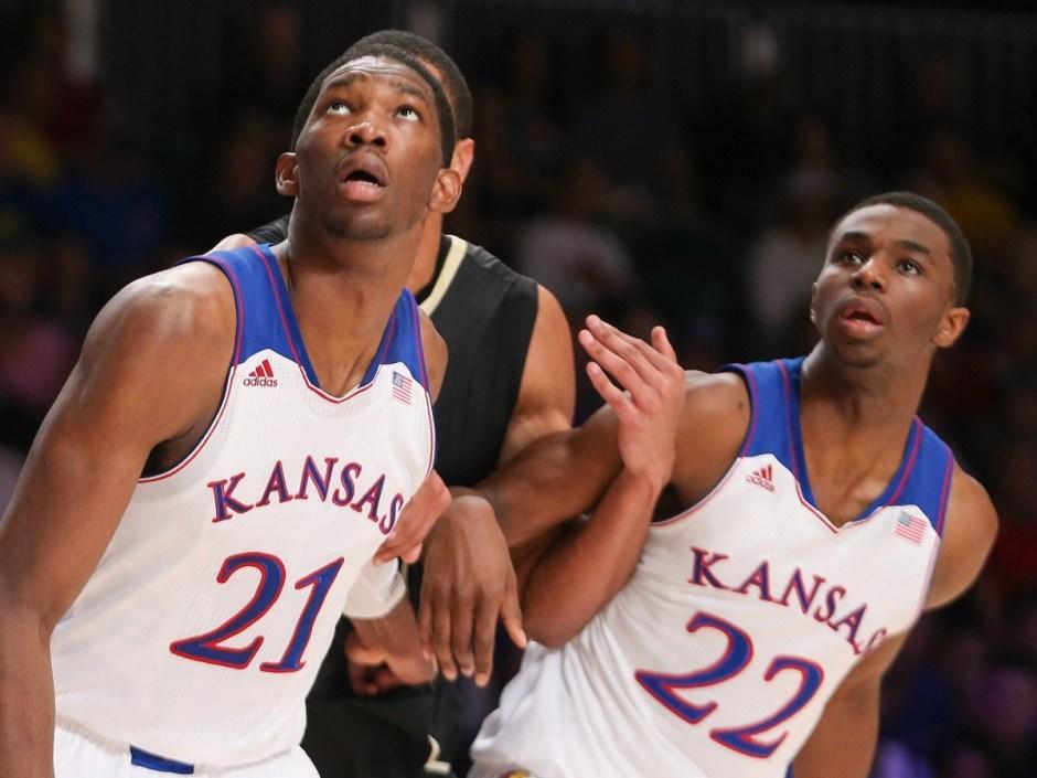 NCAA Basketball: Battle4Atlantis-Kansas vs Wake Forest